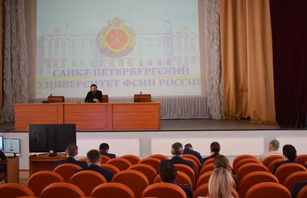 Встреча с отцом Олегом